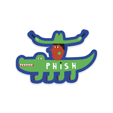 Later Gator Sticker Shop The Phish Dry Goods Official Store
