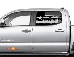 Product Toyota Tacoma 4runner Tundra Hardtop Flag Texas Forest Fields Eagle Windshield Decal Jku Jlu 2007 2019 Or Dodge Challenger Charger Subaru Ascent Forest