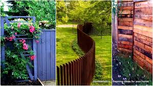 37 awesome pallet fence ideas to