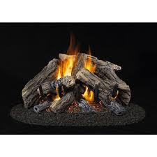 btu dual burner vented gas fireplace