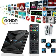 HK1 SUPER Android 9.0 TV Box RK3318 Quad Core 4GB 128GB Set top Box  16G+64G+BT 2.4G/5GHz Dual band Wifi Player Online Home Video Set-top Boxes