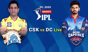 CSK vs DC Live Cricket Score, IPL 2020 ...