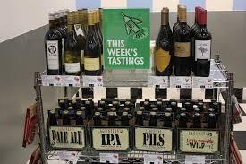 e beer and wine tastings every week