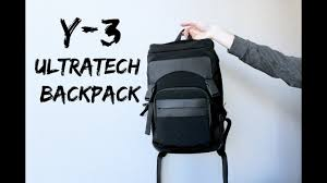 y 3 ultratech backpack unboxing