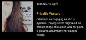 Priscilla Walters on stage tonight. 8.30... - Republic Bar & Cafe   Facebook