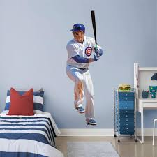 Chicago Cubs Anthony Rizzo Fathead Life Size Removable Wall Decal