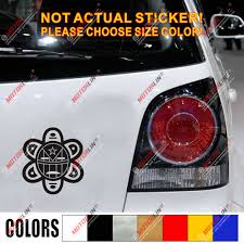 Taino Sun Symbol Decal Sticker Puerto Rico Flag Pr Car Vinyl No Bkgrd Car Stickers Aliexpress