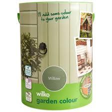Wilko Garden Colour Willow Exterior Paint 5l Wilko