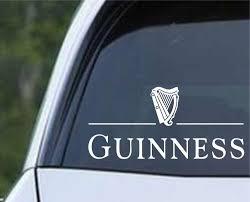 Guinness Beer Die Cut Vinyl Decal Sticker Decals City