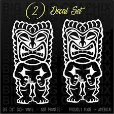 9 Vinyl Tiki Ku Car Decal Sticker 1 God Of War And Strength Moonnepal Com