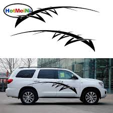 Car Sticker 2x Art Abstract Striped Not Afraid Of Difficulties Courage Thorns Van Car Styling Car Body Vinyl Decal 200 33 Cm Car Stickers Aliexpress