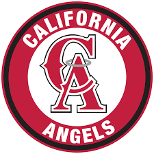 Los Angeles Angels Of Anaheim Ca Logo Circle Logo Vinyl Decal Sticker Sportz For Less