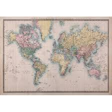 Shop Vintage Map Wall Decal Overstock 29901291