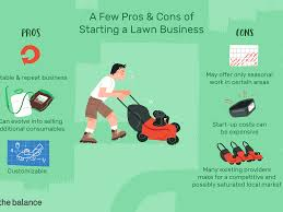 cons of starting a lawn care business