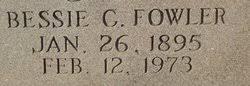 Bessie Cordelia Powell Fowler (1895-1973) - Find A Grave Memorial