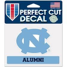 Unc Car Decals North Carolina Tar Heels Bumper Stickers Decals Fanatics