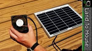 solar power puter fan you
