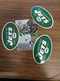 3 Of New York Jets Themed Car Decal Sticker Quality Nfl Collectable Ebay