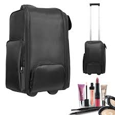 soft sided makeup case wheels