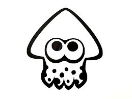 Splatoon Inkling Squid Vinyl Decal Sticker Splatoon Vinyl Decal Stickers Vinyl Decals