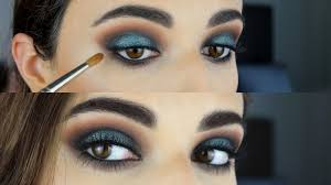 blue black smokey eye tutorial you