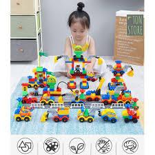 Bộ đồ chơi xếp hình ô tô cho bé, giá chỉ 299,000đ! Mua ngay kẻo ...