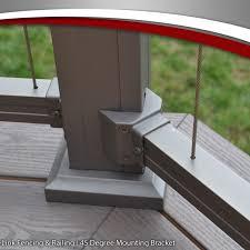 Aluminum Railing Accessories Key Link Fencing Railing