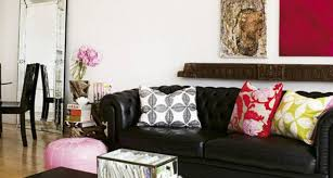 the 16 best black leather couch decor