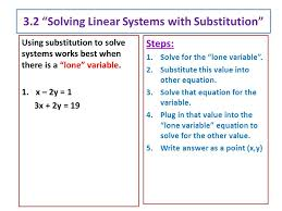 3 2 solving linear systems with