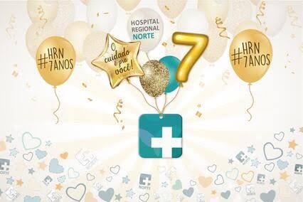 """Resultado de imagem para Ação social marca aniversário de sete anos do Hospital Regional Norte"""""""