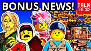 BONUS LEGO NEWS! COMIC CON! Hidden Side Shorts! LEGO Ideas Tree ...