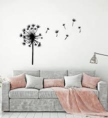 Vinyl Wall Decal Dandelion Flower Floral Art Garden Girl Room Stickers Wallstickers4you