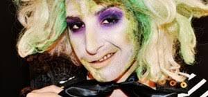 beetlejuice makeup look for
