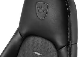 noblechairs icon black platinum white