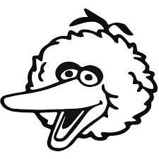 Big Bird Sesame Street Decal Sticker