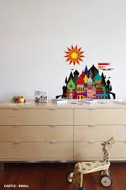 Blik Blik Imaginary Castle Wall Sticker Modern Nursery