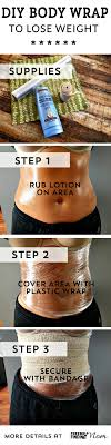 diy lose weight body wraps to shed