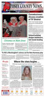 December 5, 2017 - The Posey County News by The Posey County News ...