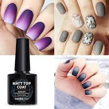 high quality matte gel nail polish top
