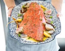 Roasted Salmon with Aioli and ...