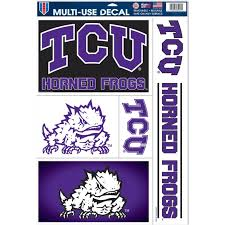 Bigbolo Tcu Horned Frogs Tattoos 7ct