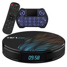 Amazon.com: Android TV Box 10.0 4GB 64GB Smart TV Box Streaming Media  Player RK3318 USB 3.0 Ultra HD 1080P 4K HDR WiFi 2.4GHz 5.8GHz Bluetooth  4.1 Set Top Box with Mini Wireless