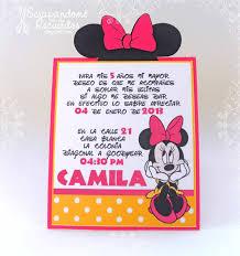 Scrapandome Con Los Recuerdos Minnie Mouse Party Camila Cumple 5