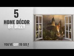 Hogwarts Harry Potter 3d Window View Decal Graphic Wall Sticker Wall Decals
