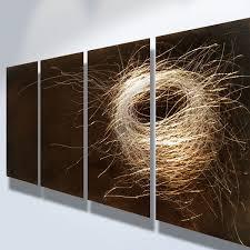 india abstract metal wall art