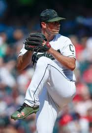 Cleveland Indians Adam Plutko pitching against the Chicago White ...