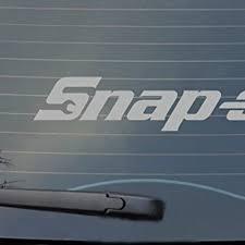 Vova Snap On Sticker Car Van 4x4 Toolbox Sticker Car Boat Laptop Window Vinyl Decal