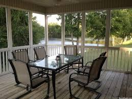 screened porch to glass doors windows