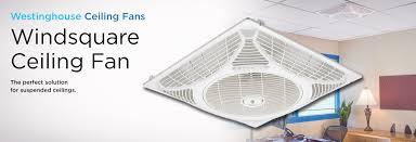 windsquare ceiling fan
