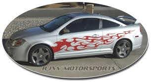 Tribal Flames Decal 53 Rjw Motorsports
